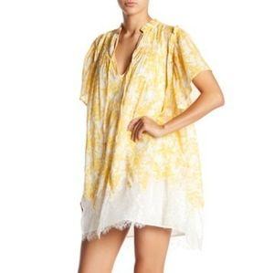 ISO Free People Marigold Tunic Mini Dress